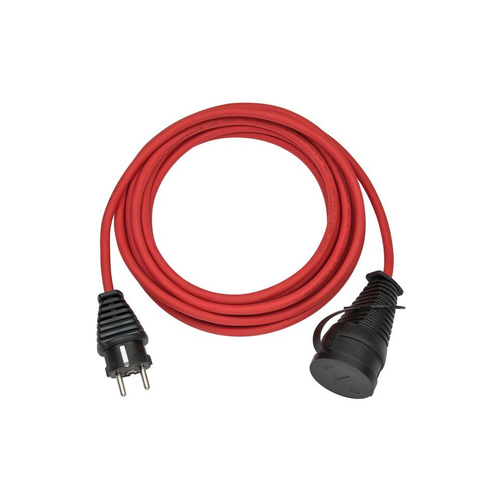 Kabel przedłużający BREMAXX IP44 czerwony 10m AT-N05V3V3-F3G1,5mm²