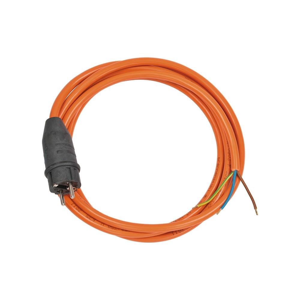 Przewód przyłącza IP44 3m pomaranczowy AT-N07V3V3-F 3G1,5mm²