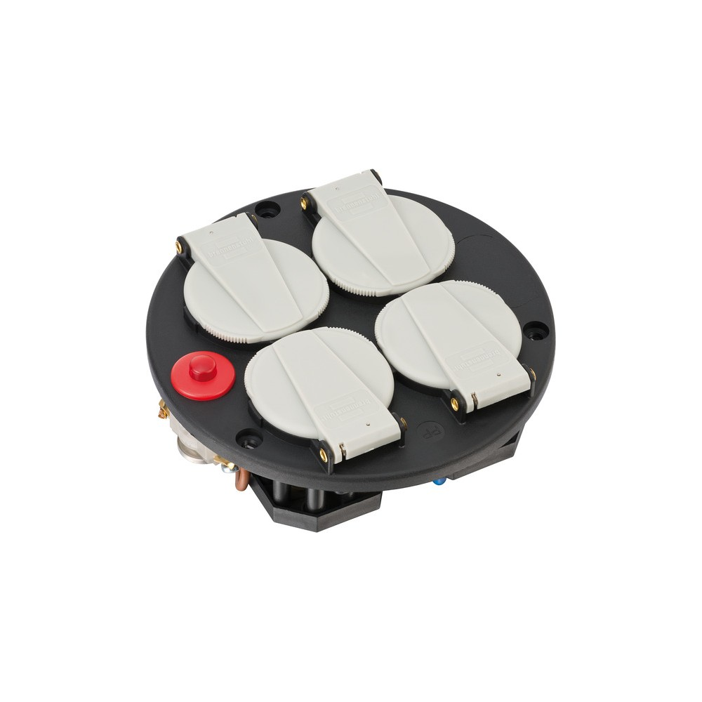 Wkład z gniazdami poczwórny IP20 230V/16A