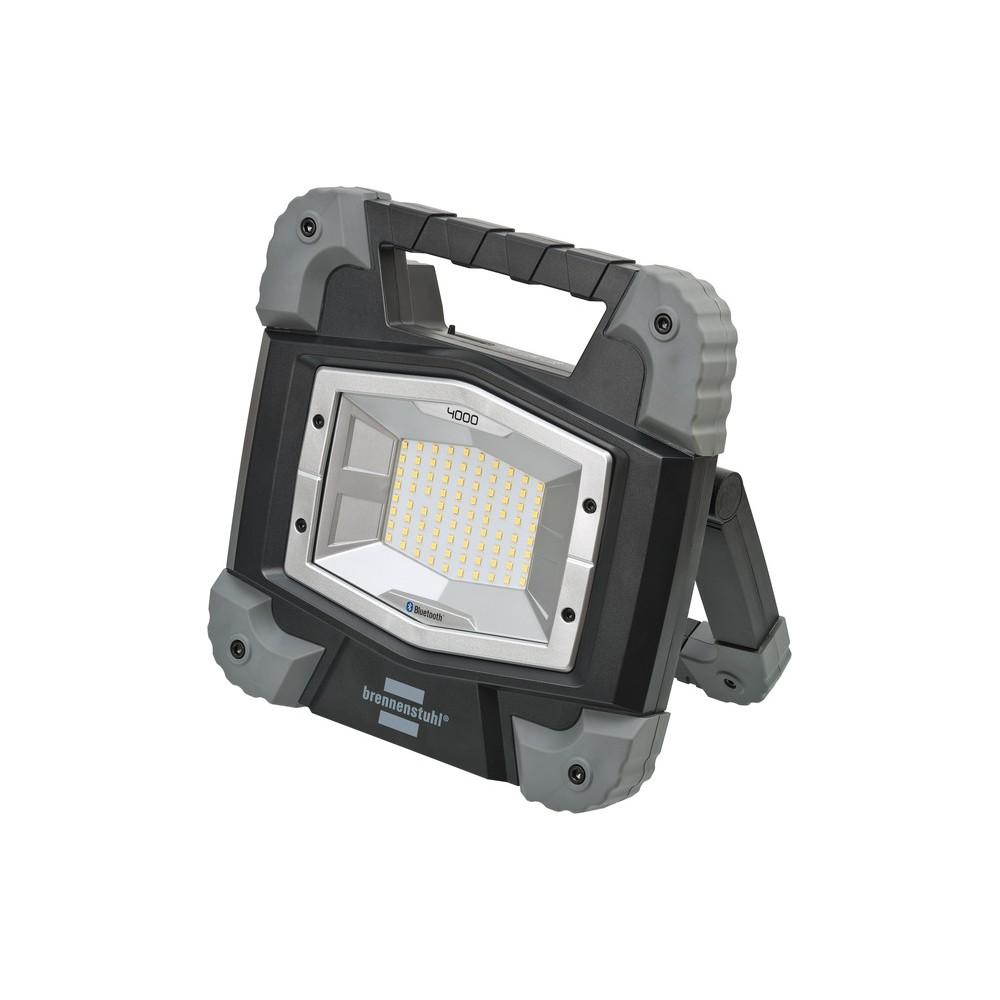 Przenośny naświetlacz akumulatorowy LED Bluetooth TORAN 4000 MBA z aplikacją do sterowania światłem, IP55, 3800lm, 40W