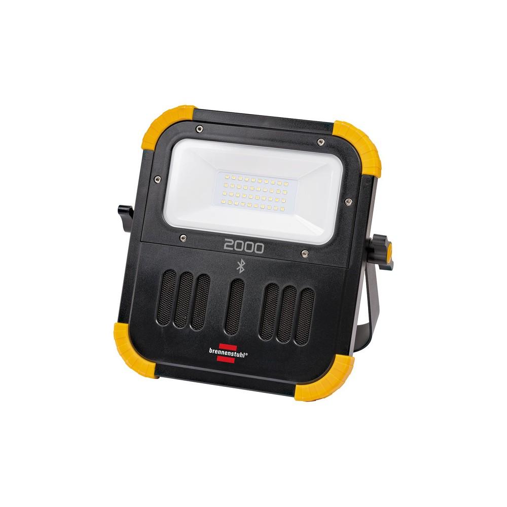 Przenośny akumulatorowy naświetlacz LED BLUMO 3000 A 20W, 2100lm, 6500K