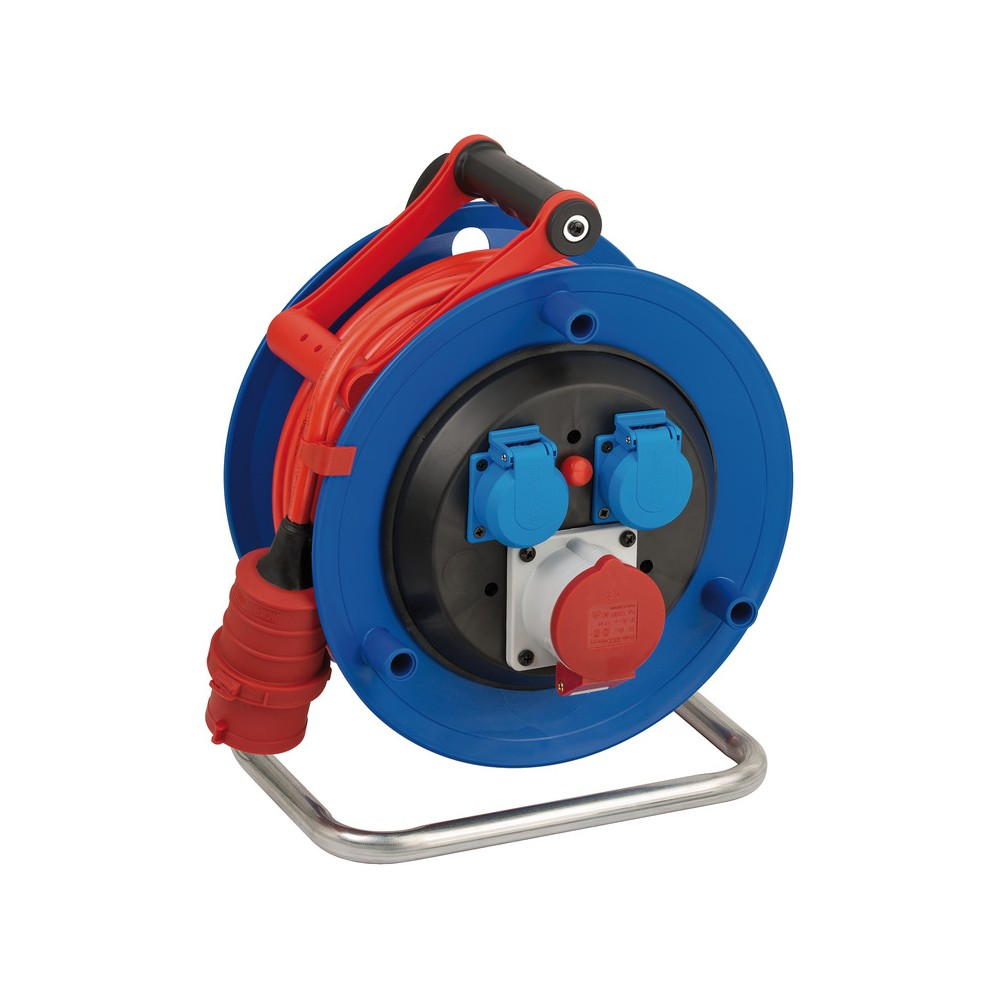 Przedluzacz bebnowy Garant CEE 1 IP44 25m AT-N07V3V3-F 1,5mm²