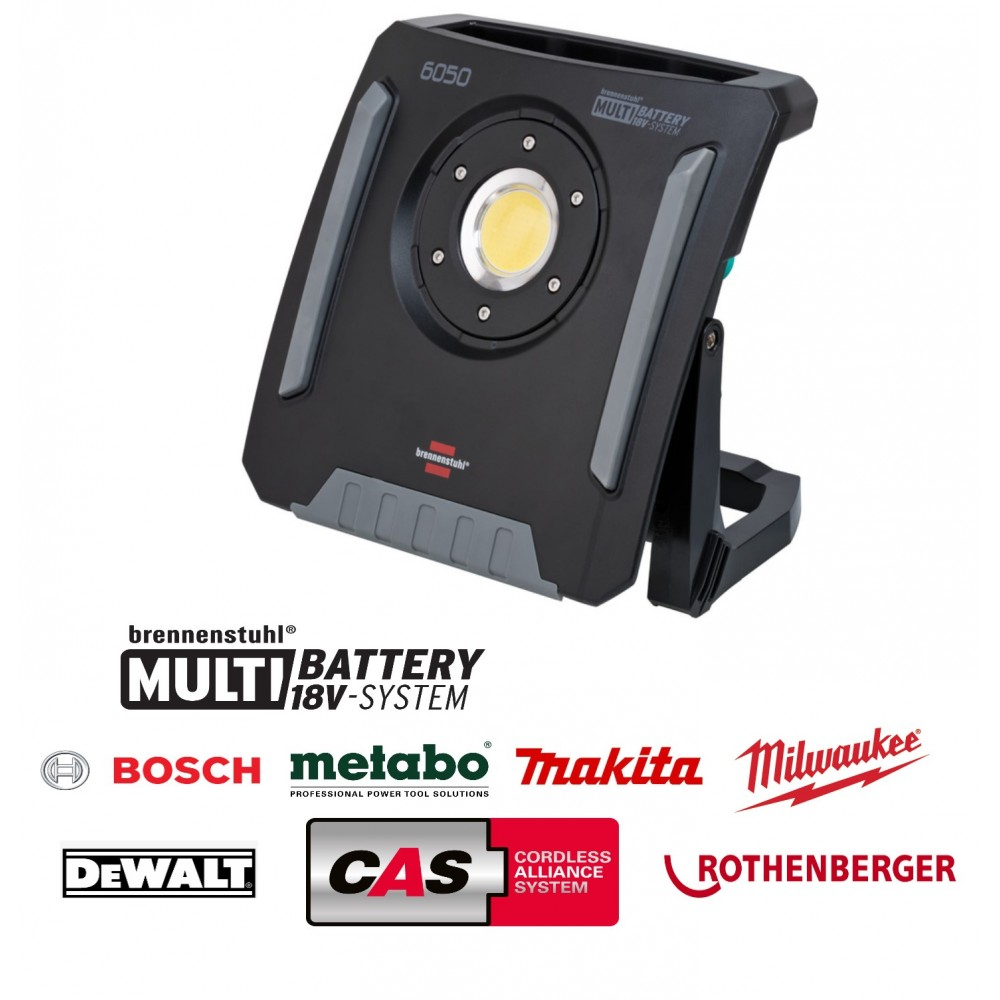 Multi Battery 18V System Reflektor LED 6200lm 6050 MA / Lampa robocza 60W